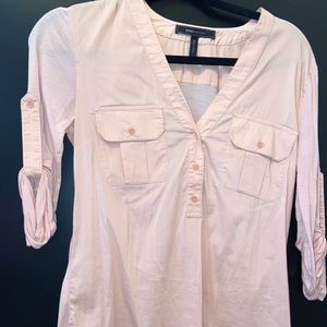 Pink Business Casual BCBG Blouse